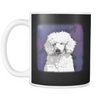 Painting Poodle Dog Mugs & Coffee Cups - Poodle Coffee Mugs - TeeAmazing - 4