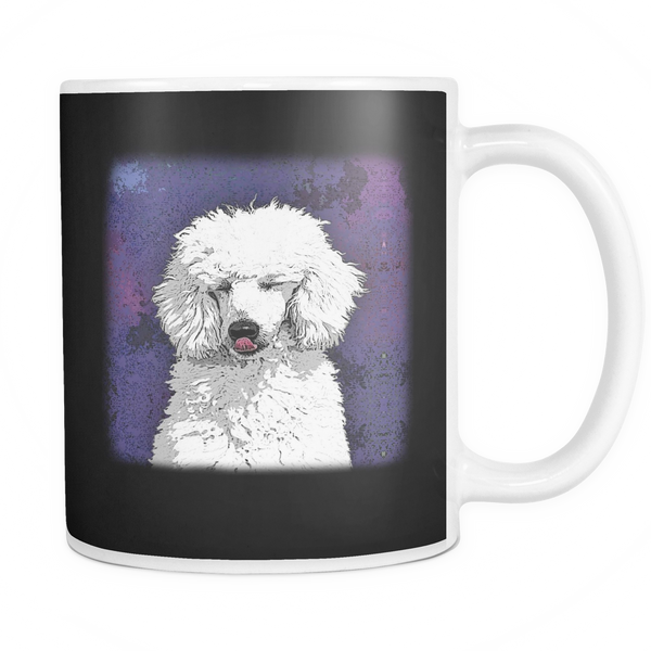 Painting Poodle Dog Mugs & Coffee Cups - Poodle Coffee Mugs - TeeAmazing - 3