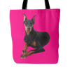 Doberman Pinscher Dog Tote Bags - Doberman Pinscher Bags - TeeAmazing - 4