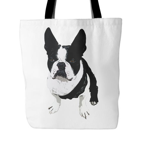 Boston Terrier Dog Tote Bags - Boston Terrier Bags - TeeAmazing
