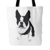 Boston Terrier Dog Tote Bags - Boston Terrier Bags - TeeAmazing - 1
