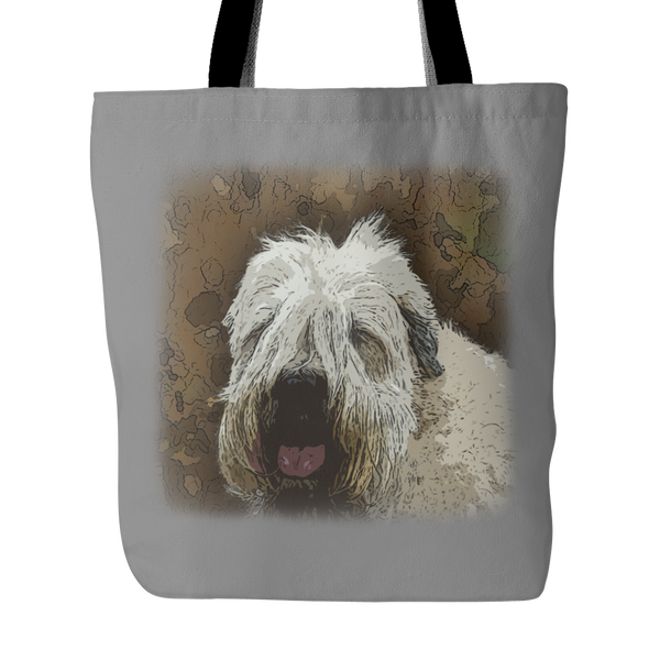 Soft Coated Wheaten Terrier Dog Tote Bags - Soft Coated Wheaten Terrier Bags - TeeAmazing - 4
