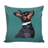 Miniature Pinscher Dog Pillow Cover - Miniature Pinscher Accessories - TeeAmazing - 3