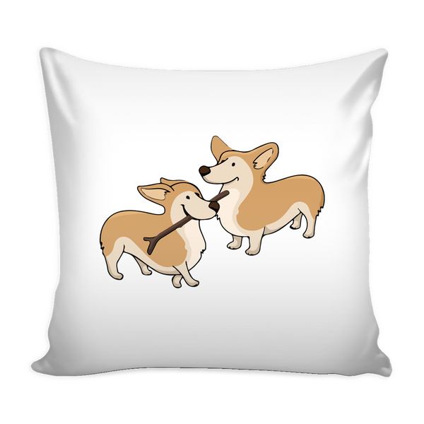 Corgi Dog Pillow Cover - Corgi Accessories - TeeAmazing - 2