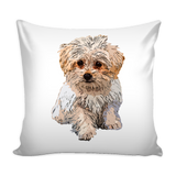 Maltese Dog Pillow Cover - Maltese Accessories - TeeAmazing - 2