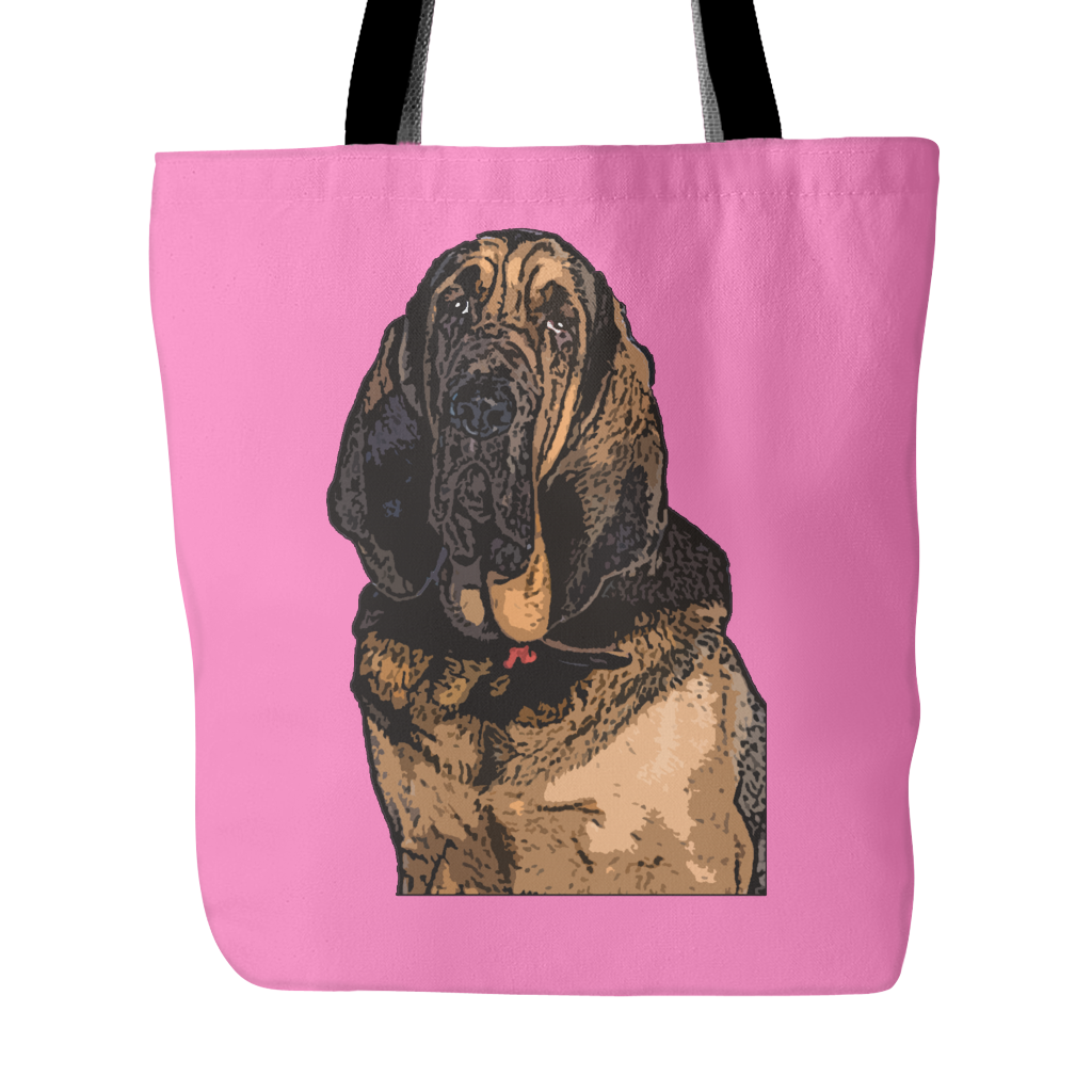 Bloodhound Dog Tote Bags - Bloodhound Bags - TeeAmazing - 4