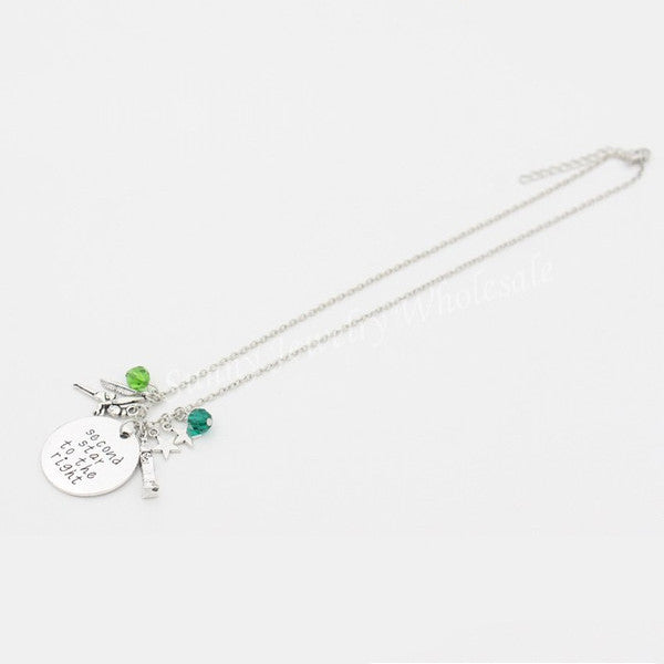Peter Pan Crystals Necklace