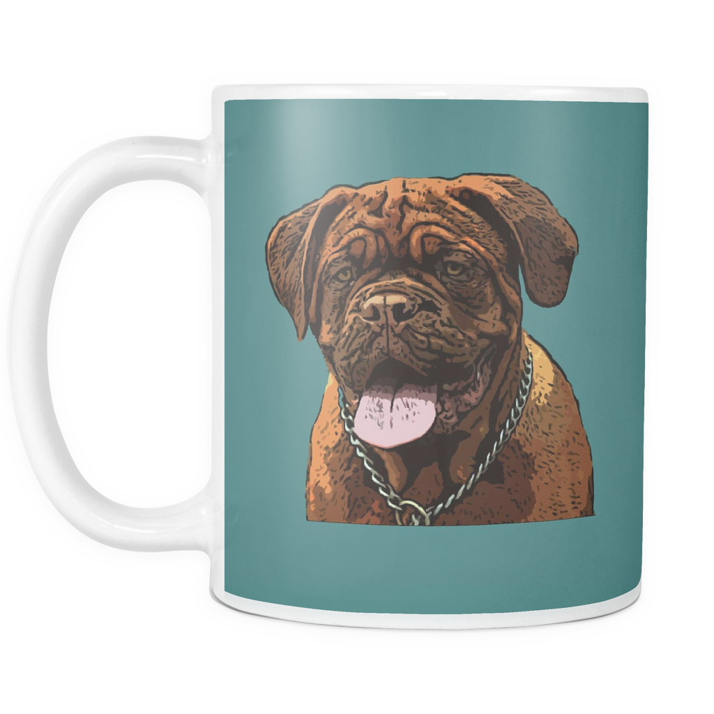 Dogues de Bordeaux Dog Mugs & Coffee Cups - Dogues de Bordeaux Coffee Mugs - TeeAmazing - 6