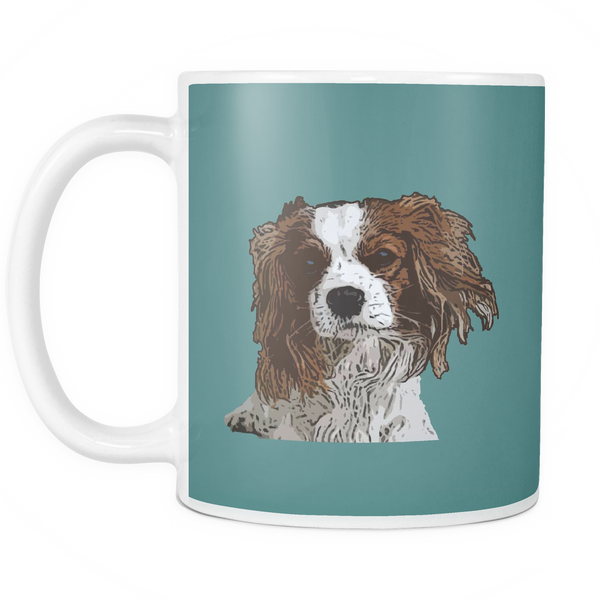 Cavalier King Charles Spaniel Dog Mugs & Coffee Cups - Cavalier King Charles Spaniel Coffee Mugs - TeeAmazing - 6