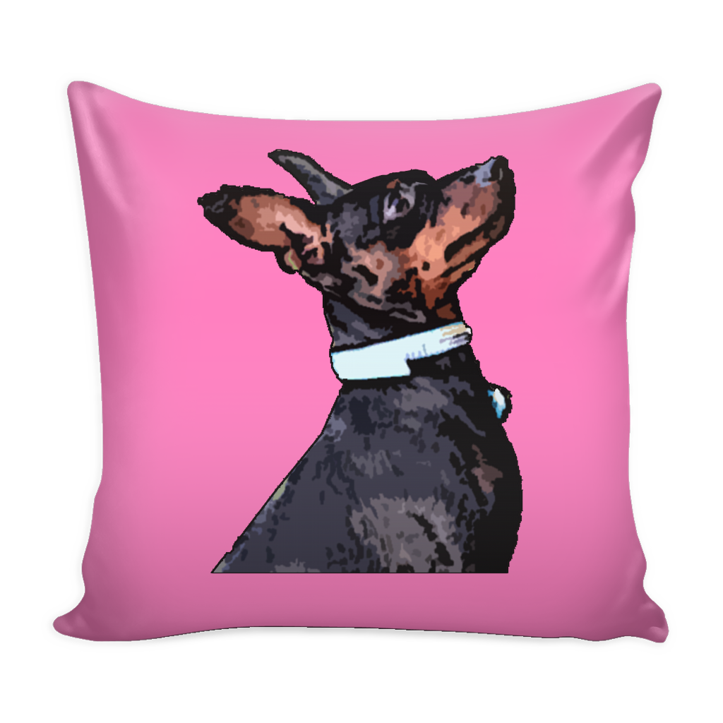 Miniature Pinscher Dog Pillow Cover - Miniature Pinscher Accessories - TeeAmazing