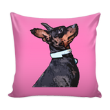 Miniature Pinscher Dog Pillow Cover - Miniature Pinscher Accessories - TeeAmazing - 4