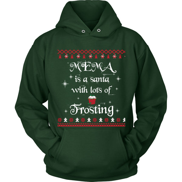 Mema is a Santa... T-Shirt - Mema Shirt - TeeAmazing - 8