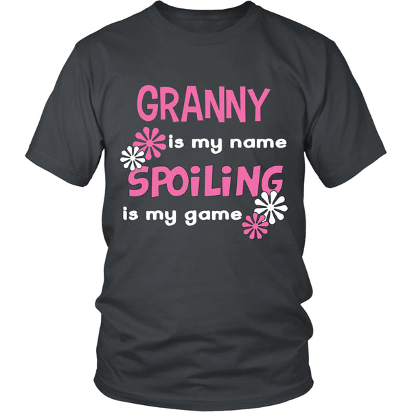 Granny Is My Name... T-Shirt - Granny Shirt - TeeAmazing - 4
