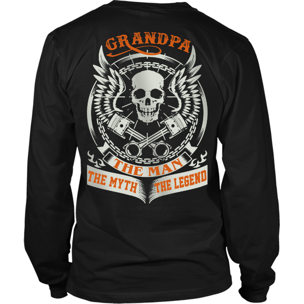 Grandpa The Man The Myth The Legend T Shirts, Tees & Hoodies - Grandpa Shirts - TeeAmazing - 6