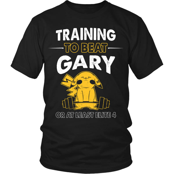 Training To Beat GARY T Shirts, Tees & Hoodies -  Pokemon Shirts - TeeAmazing - 4