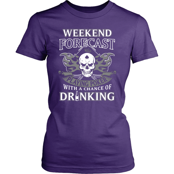 Playing Poker with Drinking T Shirts, Tees & Hoodies - Poker Shirts - TeeAmazing - 10