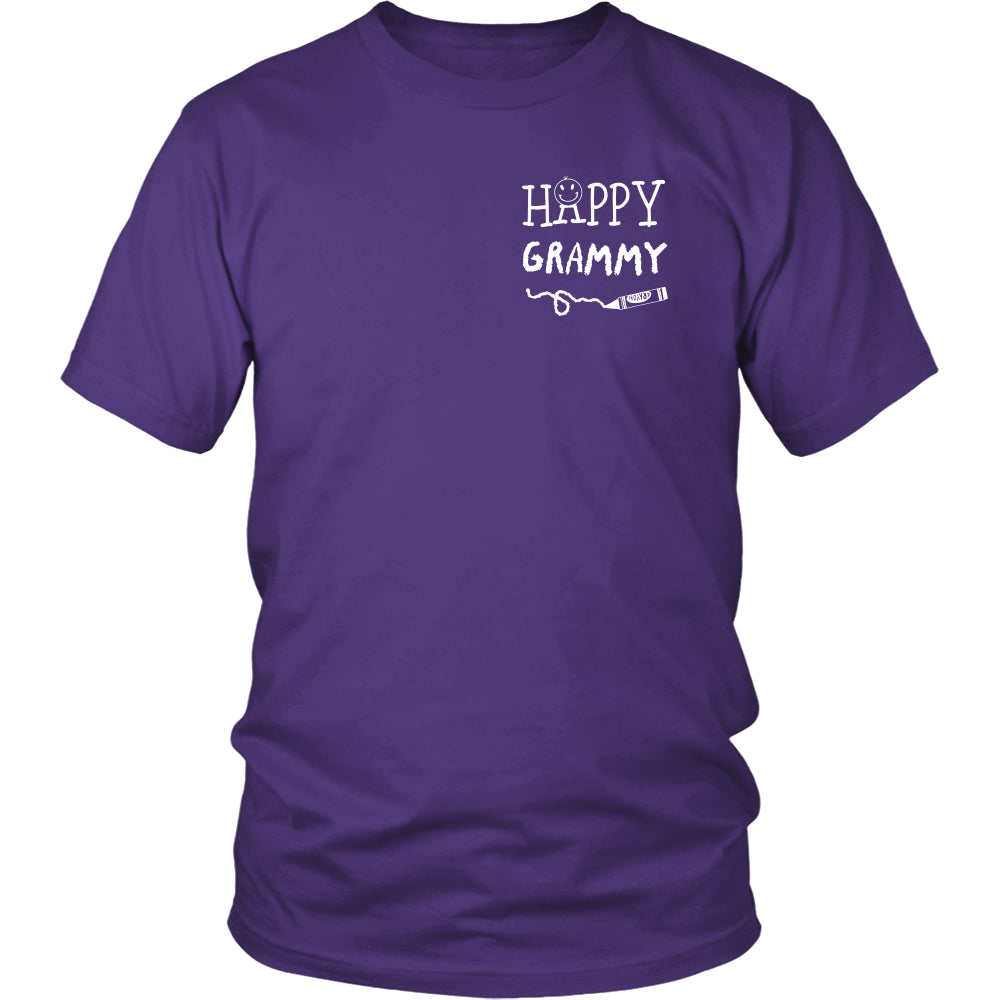 Happiness is Being Grammy T-Shirt - Grammy Shirt - TeeAmazing
