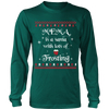 Mema is a Santa... T-Shirt - Mema Shirt - TeeAmazing - 1