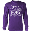 Only Awesome Pops Get Hugged A Lot T Shirts, Tees & Hoodies - Grandpa Shirts - TeeAmazing - 11