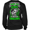 As Long As She Swallows Fishing T-Shirt - Fishing Shirt - TeeAmazing - 7