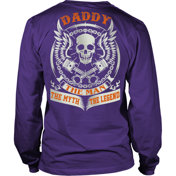 DADDY The Man The Myth The Legend T Shirts, Tees & Hoodies - Dad Shirts - TeeAmazing - 5