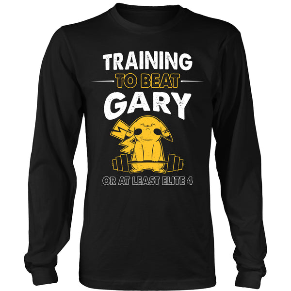 Training To Beat GARY T Shirts, Tees & Hoodies -  Pokemon Shirts - TeeAmazing - 7
