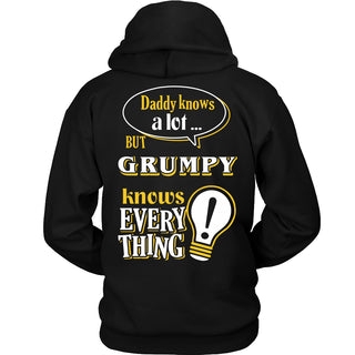 Grumpy Knows More T-Shirt -  Grumpy Shirt - TeeAmazing