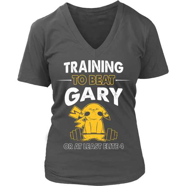 Training To Beat GARY T Shirts, Tees & Hoodies -  Pokemon Shirts - TeeAmazing - 12
