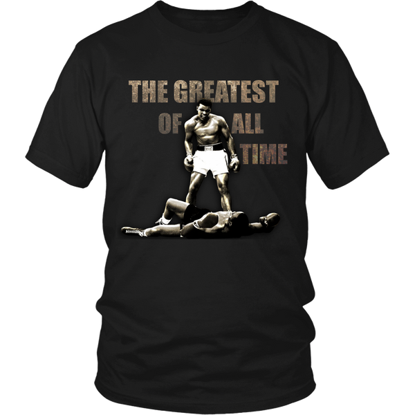 The Greatest of All Time T Shirts, Tees & Hoodies -  Muhammad Ali Shirts - TeeAmazing - 1