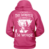 I'm Not The Monster You Think I Am T Shirts, Tees & Hoodies - Dragonball Shirts - TeeAmazing