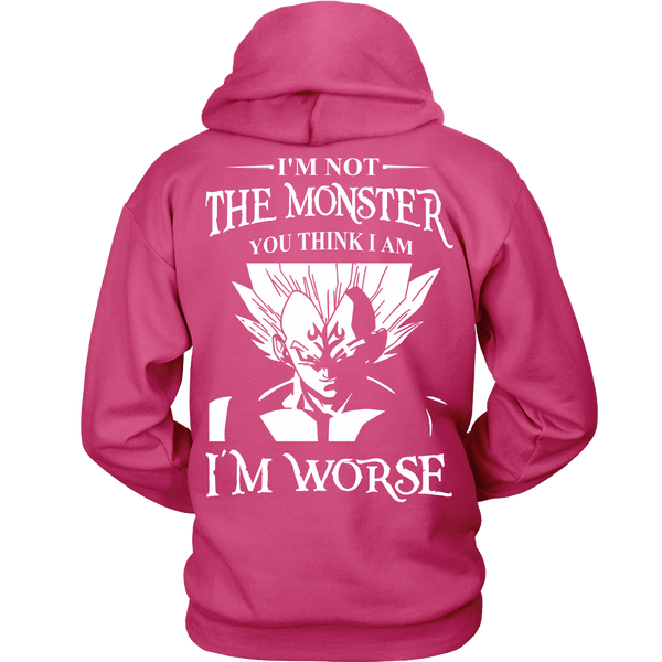 I'm Not The Monster You Think I Am T Shirts, Tees & Hoodies - Dragonball Shirts - TeeAmazing - 8