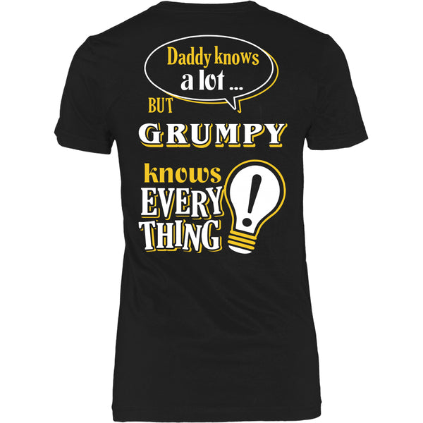 Grumpy Knows More T-Shirt -  Grumpy Shirt - TeeAmazing - 18