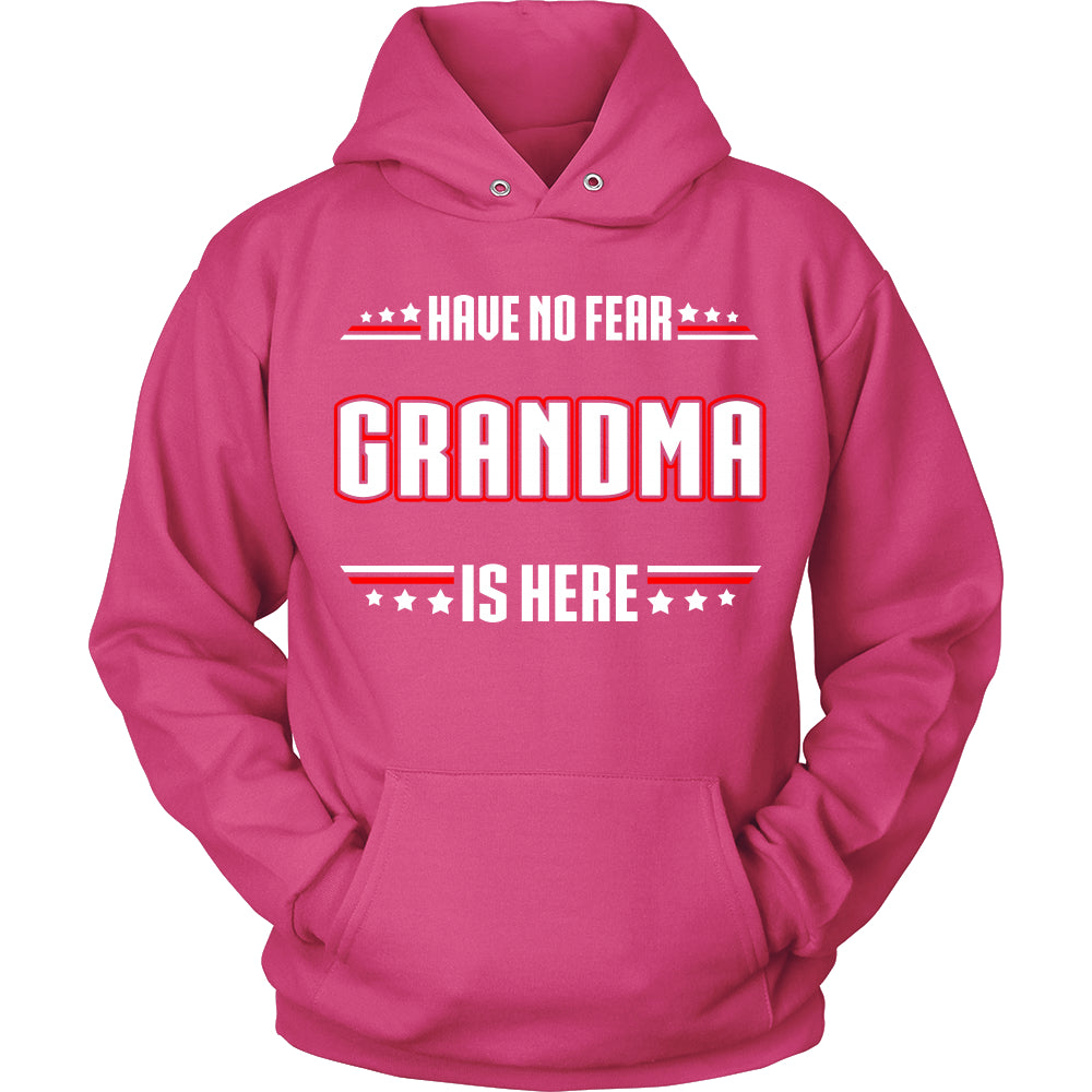Have No Fear Grandma Is Here T-Shirt - Grandma Shirt - TeeAmazing