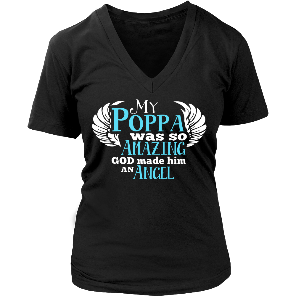 My Poppa Was So Amazing T Shirts, Tees & Hoodies - Grandpa Shirts - TeeAmazing