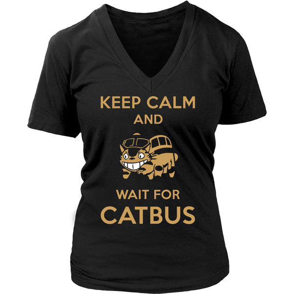 Keep Calm Catbus T Shirts, Tees & Hoodies - Totoro Shirts - TeeAmazing - 12