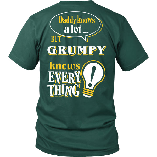Grumpy Knows More T-Shirt -  Grumpy Shirt - TeeAmazing - 6