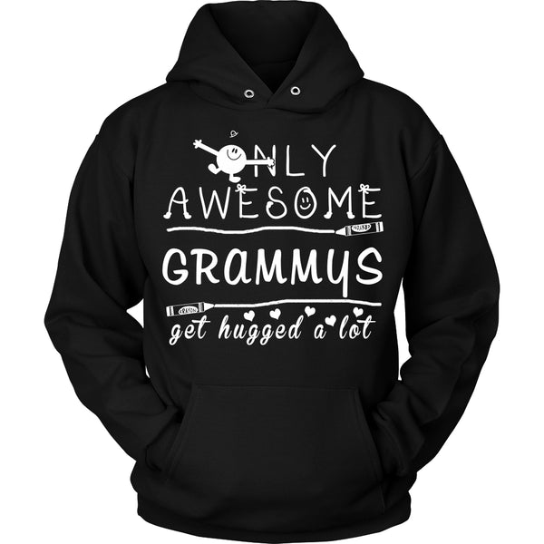 Only Awesome Grammy Get Hugged A Lot T-Shirt -  Grammy Shirt - TeeAmazing - 15