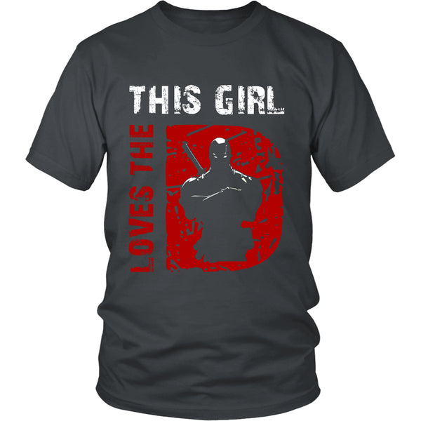 This Girl Loves The Deadpool T Shirts, Tees & Hoodies - Deadpool Shirts - TeeAmazing - 4