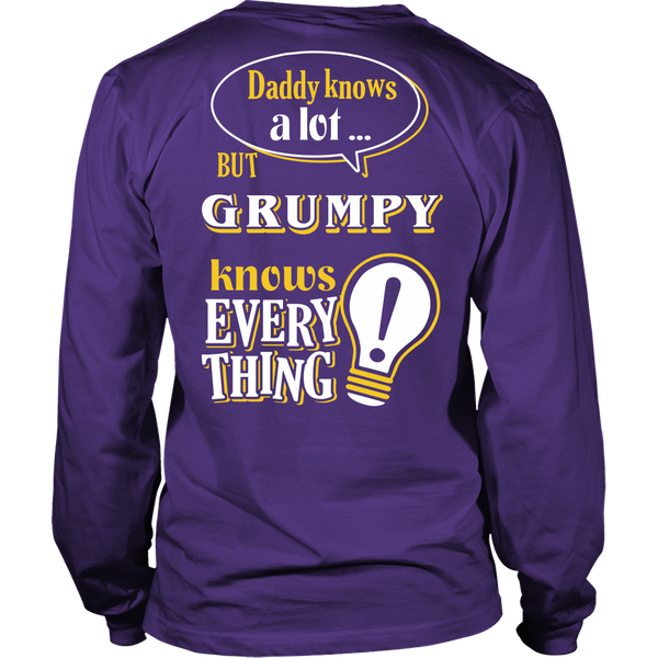 Grumpy Knows More T-Shirt -  Grumpy Shirt - TeeAmazing - 12