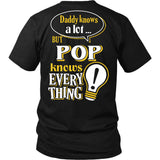 Pop Knows More T-Shirt -  Pop Shirt - TeeAmazing