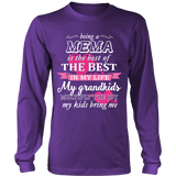 Being a Mema Is The Best T-Shirt - Mema Shirt - TeeAmazing