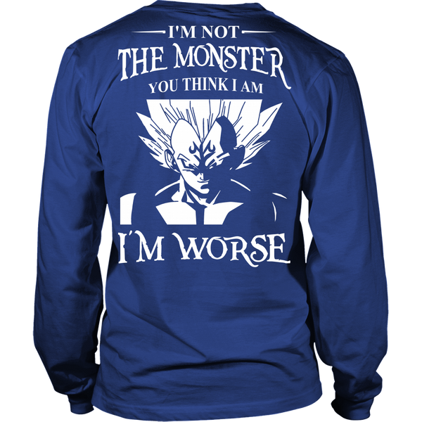 I'm Not The Monster You Think I Am T Shirts, Tees & Hoodies - Dragonball Shirts - TeeAmazing - 5