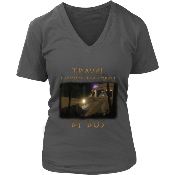 Travel Through The Forest By Bus T Shirts, Tees & Hoodies - Totoro Shirts - TeeAmazing - 12