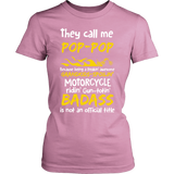 They Call Me Pop-Pop Motorcycle T-Shirt - Pop-Pop Motorcycle Shirt - TeeAmazing