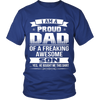 I Am A Proud Dad, Son T Shirts, Tees & Hoodies - Dad Shirts - TeeAmazing - 2