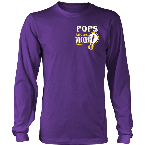 Pops Knows More T-Shirt -  Pops Shirt - TeeAmazing - 11