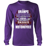Created Equal Gramps Motorcycle T-Shirt - Gramps Motorcycle Shirt - TeeAmazing