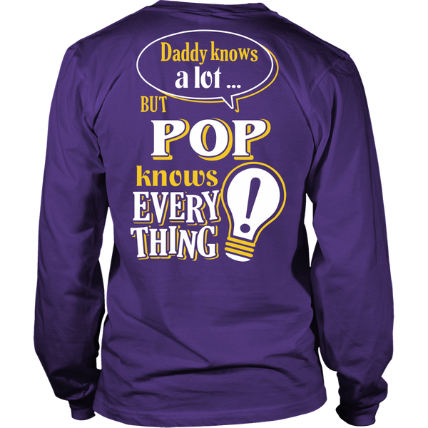 Pop Knows More T-Shirt -  Pop Shirt - TeeAmazing - 12