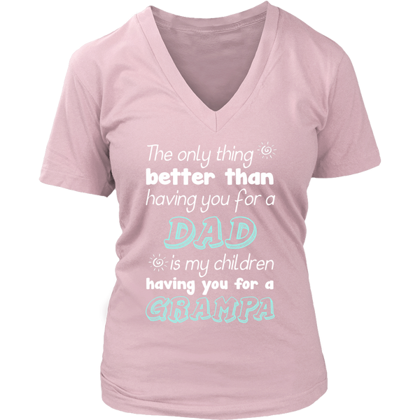My Children Having You For A Grampa T Shirts, Tees & Hoodies - Grandpa Shirts - TeeAmazing - 12