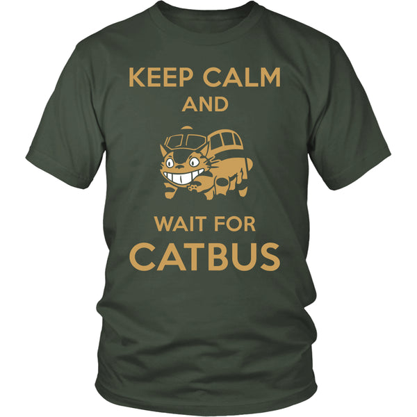 Keep Calm Catbus T Shirts, Tees & Hoodies - Totoro Shirts - TeeAmazing - 5